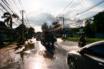 Big Puddle, Koh Samui, Kodak Portra 400
